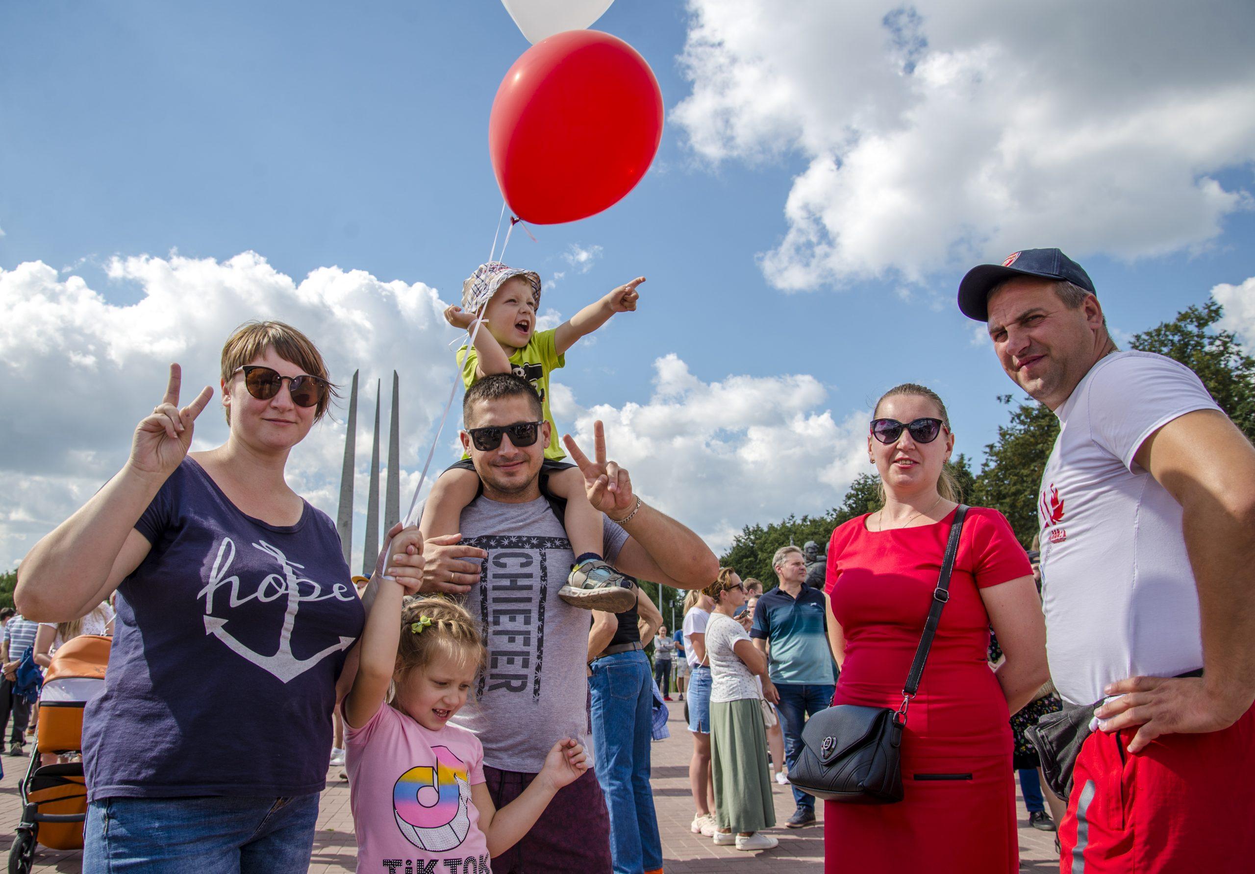 Как протестовал Витебск 16 августа — фоторепортаж