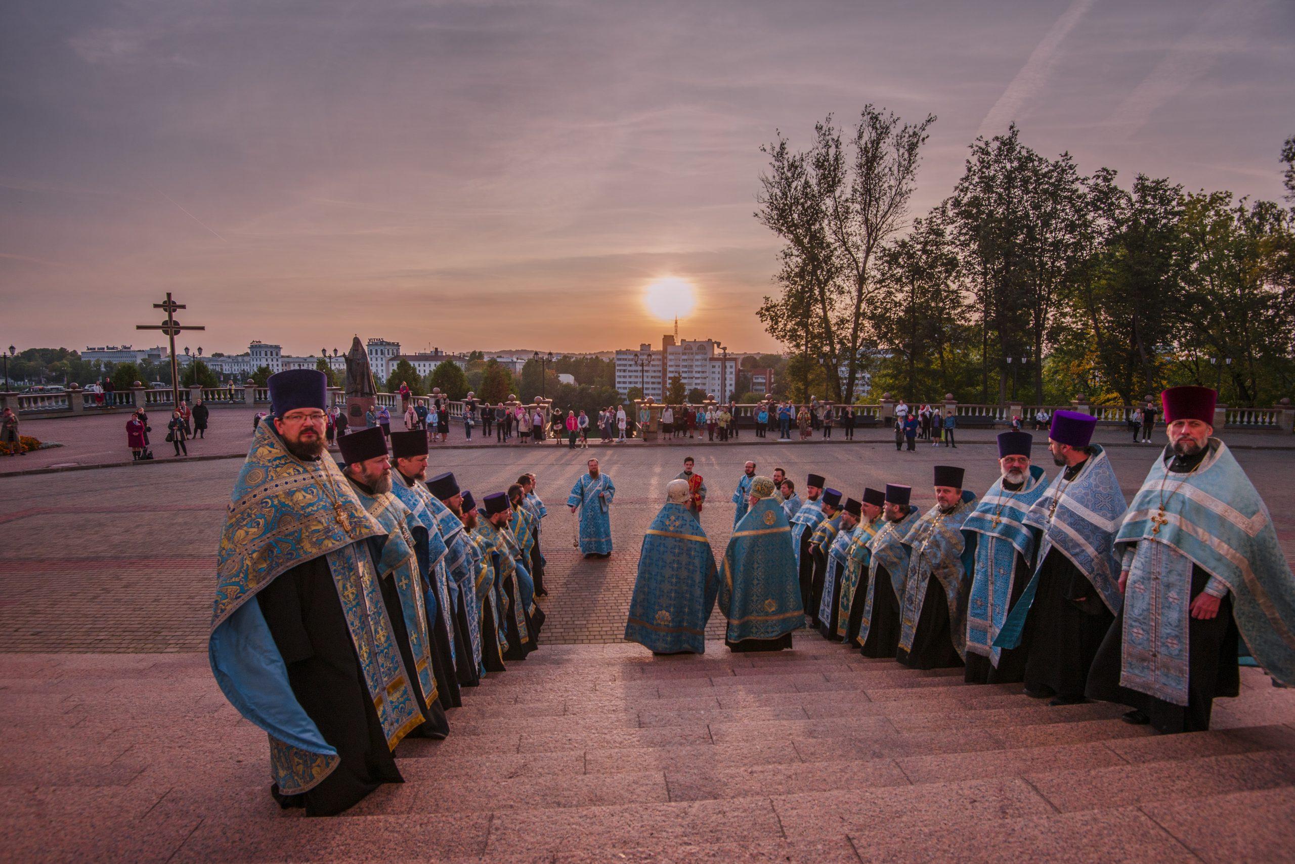 Копия Жировичской чудотворной иконы в Витебске