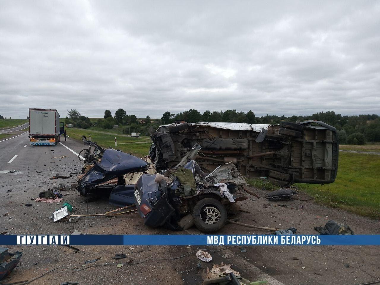В ДТП в Оршанском районе погибли 2 человека