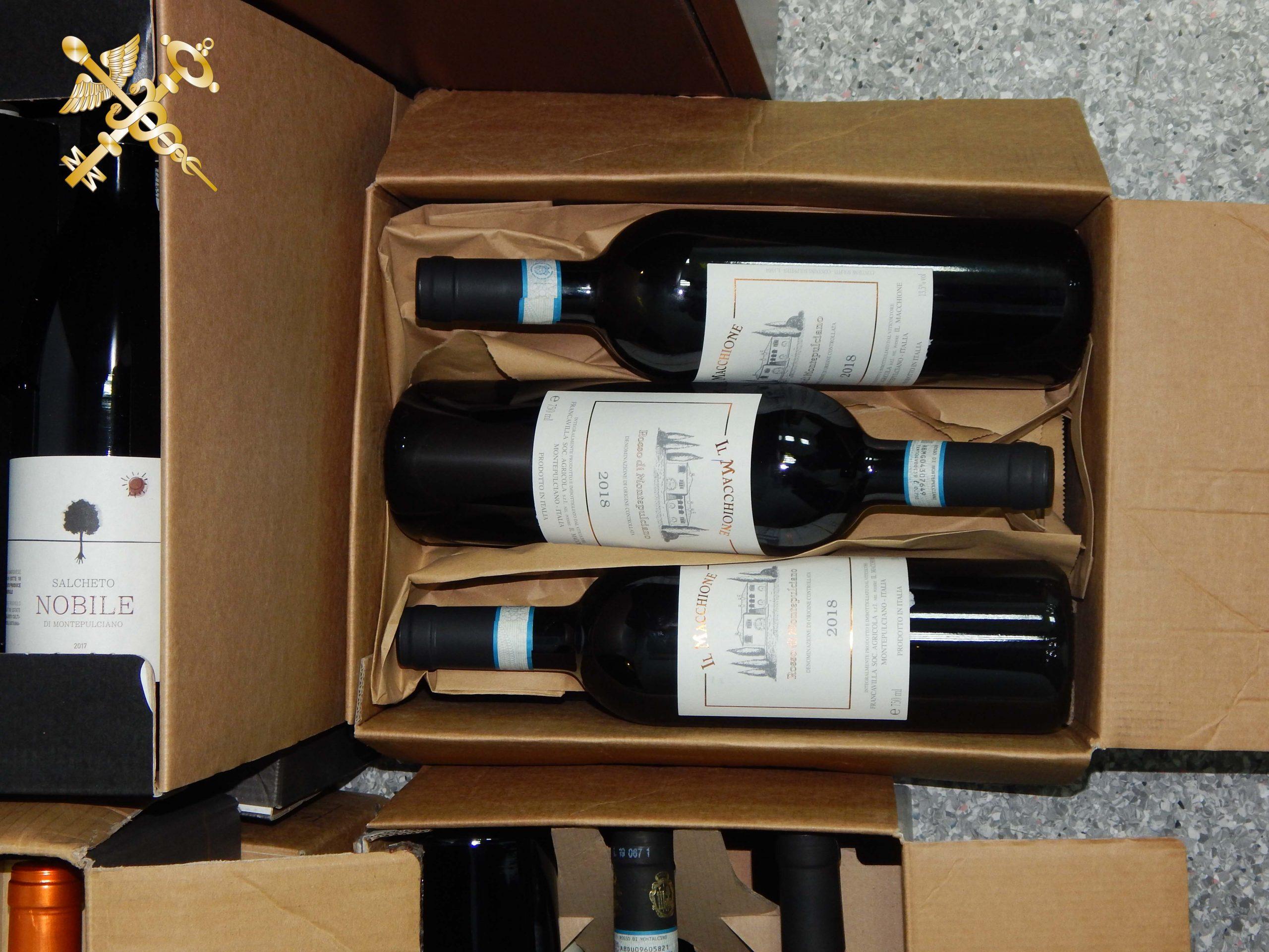 Витебская таможня пресекла незаконный ввоз 62 бутылок дорогого итальянского вина