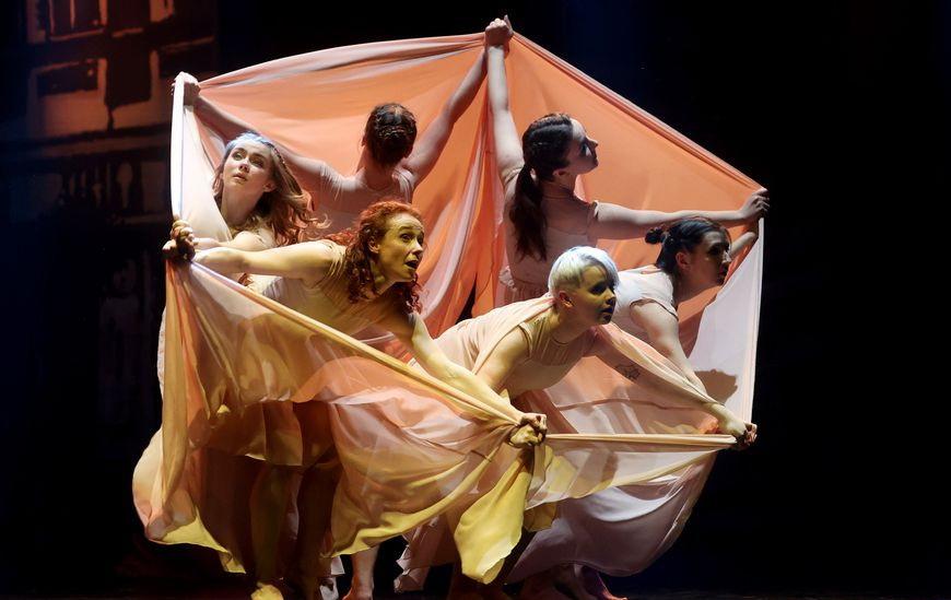 Вечер современной хореографии «Белый лист» прошел в Витебске