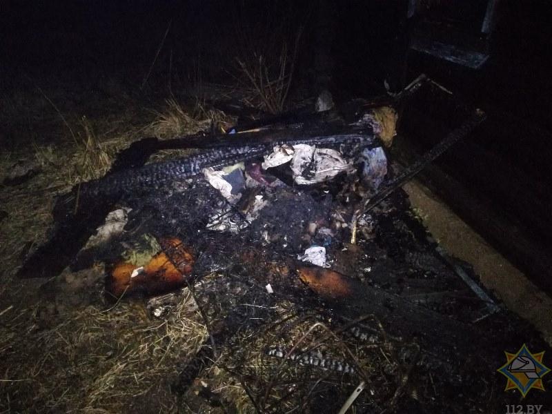 Подростки спасли односельчанина на пожаре в Витебском районе