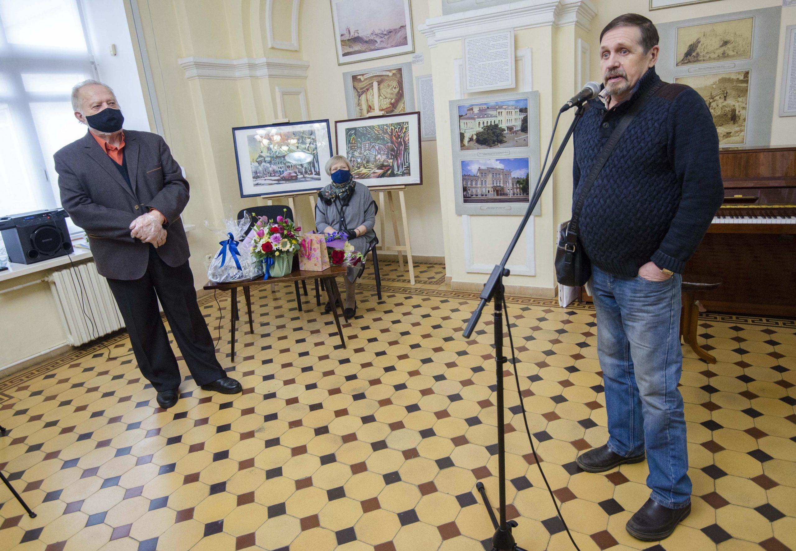 «Мой родны кут» — выстаўка Фелікса Гумена, прысвечаная 80-годдзю мастака